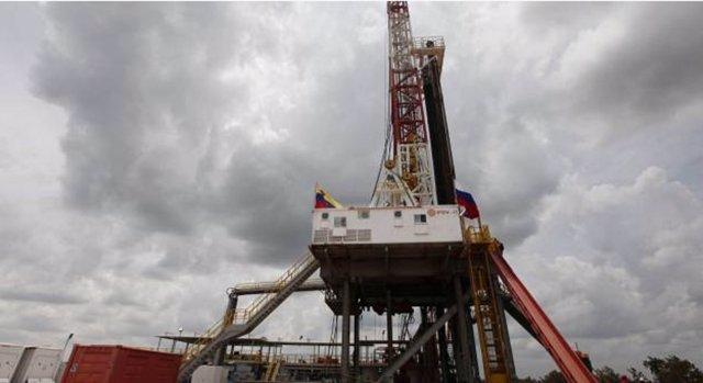 Plataforma petróleo en Venezuela