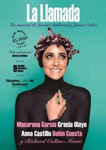 El Centro Niemeyer acoge el musical La Llamada, protagonizado por Macarena García