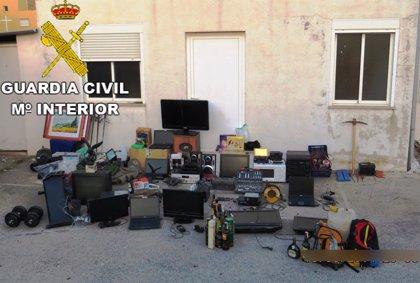 Desarticulada una banda acusada de 68 robos en Castellón y Teruel entre 2013 y 2014