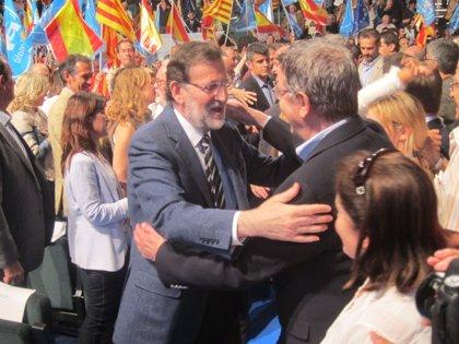 Rajoy pide el voto por una Cataluña unida y española