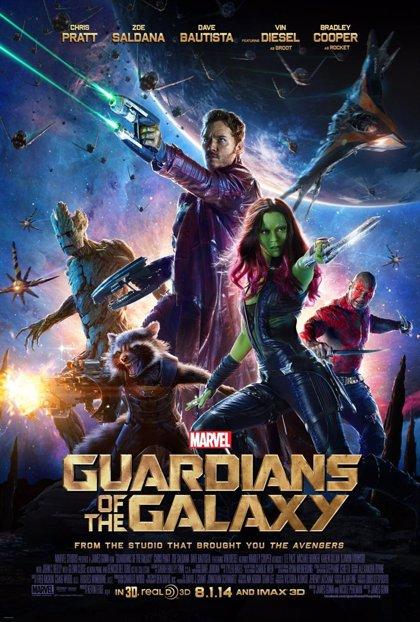 Nuevo clip y poster de 'Guardianes de la galaxia'