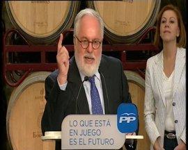 """Cañete achaca al """"cansancio"""" sus declaraciones sobre el debate con Valenciano"""