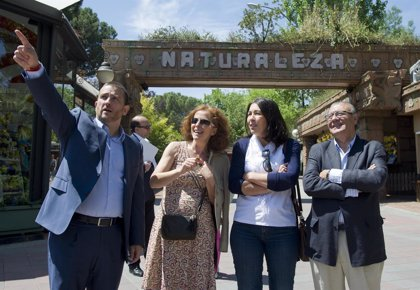 La Federación de Familias Numerosas celebra el Día de la Familia en el Parque de Atracciones