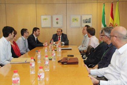 Representantes de la Comisión Europea visitan la Diputación como coordinadora del proyecto LIFE+Eutromed