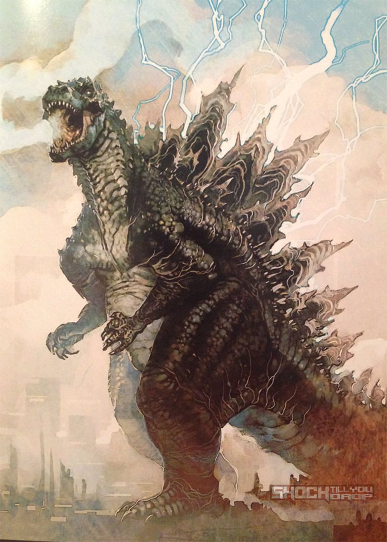 Así pudo ser el nuevo Godzilla