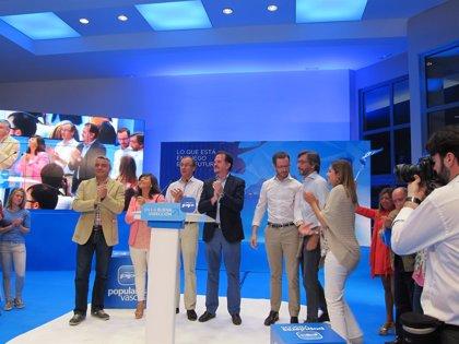 """Alonso : """"Las crisis vienen con el PSOE y se van con el PP"""""""