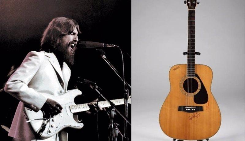 Pagan 657.000 dólares por una guitarra del ex Beatle George Harrison