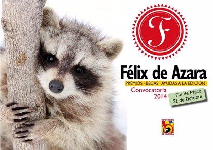 La DPH abre una nueva convocatoria de los Premios 'Félix de Azara'