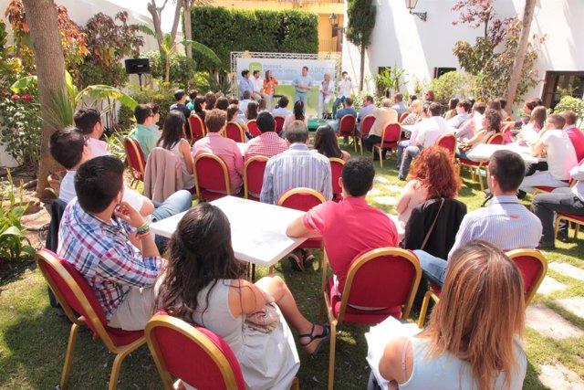 Acto del PP de Cádiz