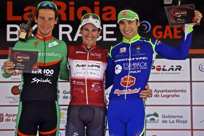 Carlos Coloma inaugura el palmarés de La Rioja Bike Race by Gaes