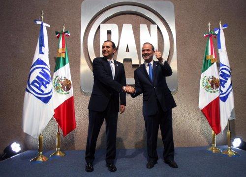 Ernesto Cordero y Gustavo Madero