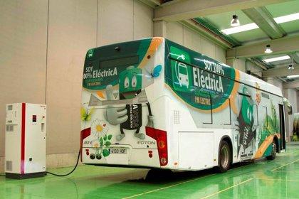 Un autobús eléctrico ahorra hasta 40.000 euros anuales