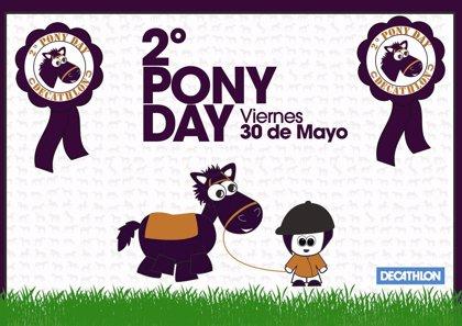 Más de 8.000 niños participarán en la segunda edición del 'Pony Day' de Decathlon