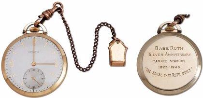 El reloj del mítico pelotero Babe Ruth, subastado en 650.000 dólares