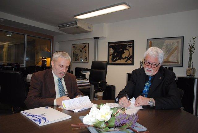 Acuerdo de colaboración entre la Once y el COPC