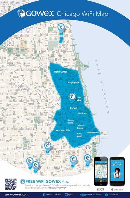 Gowex ofrece WiFi en las calles de Chicago y refuerza su peso en Estados Unidos