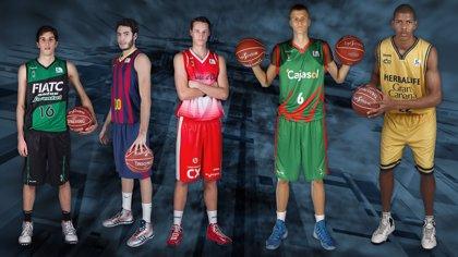 Vives, Abrines, Eriksson, Porzingis y Tavares, Mejor Quinteto Joven de la Liga Endesa