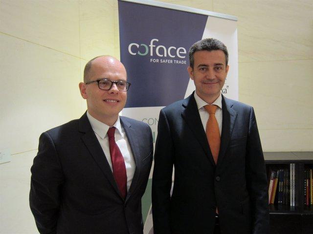 Yves Zlotowski y Juan Saborido (Coface)