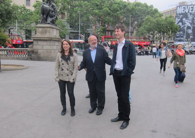 Agnès Rusiñol, J.M.Terricabras, Jordi Solé (ERC)