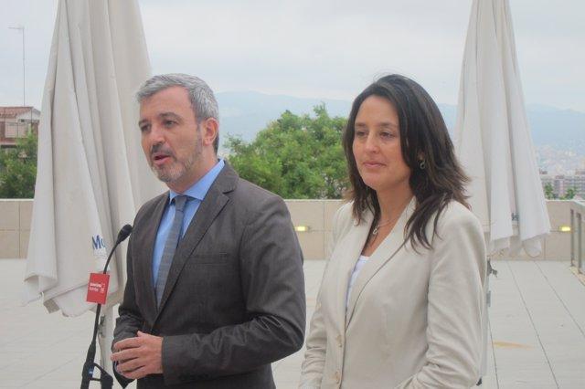 Jaume Collboni y Esther Niubó, PSC