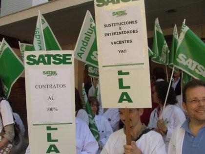 """Satse da un """"ultimátum"""" al SAS para estabilizar la situación del personal eventual o no descarta hacer huelga"""