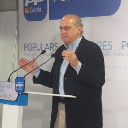 El ministro del Interior, Jorge Fernández