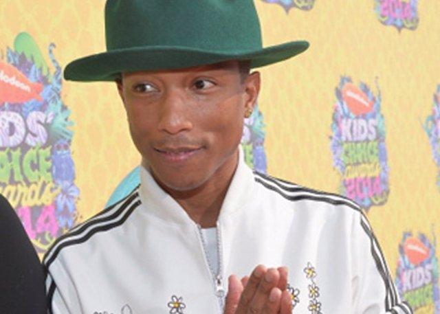Ûthe voice' el talent show de Italia, tiene nueva estrella en su jurado Pharrell