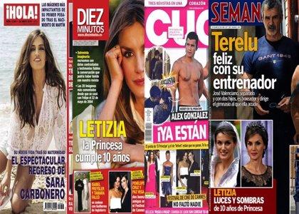 El nuevo amor de Terelu, 10 años como Princesa de Letizia y Álex González y Miguel Ángel Silvestre enamorados