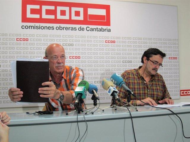 Representanes de CCOO