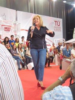 Elena Valenciano en Murcia