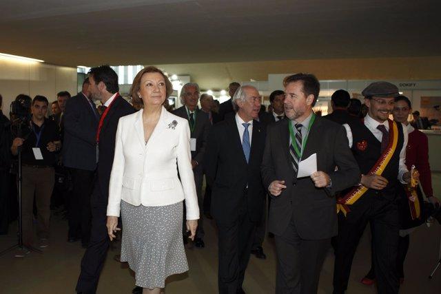 Luisa Fernanda Rudi, a su llegada al Congreso