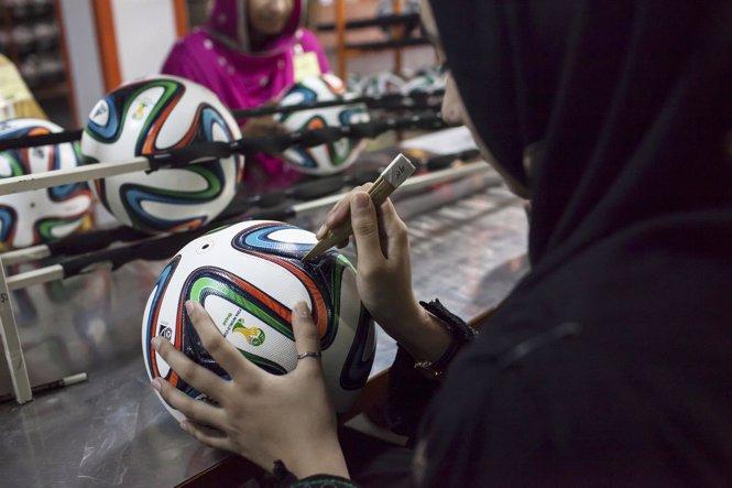 Cómo se hace el balón del mundial 2014 Brazuca
