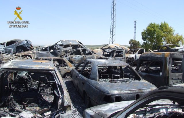 Uno de los incendios por los que hay un detenido