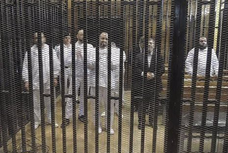 Seguidores de Hermanos Musulmanes en prisión (Egipto)