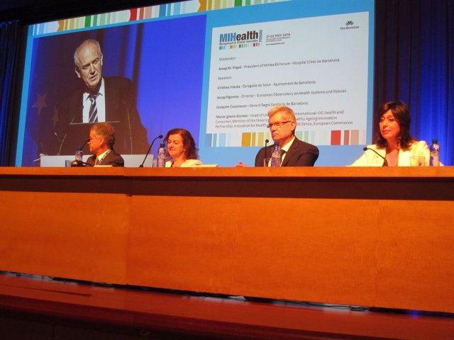 Inauguración del III MIHealth Forum de Fira Barcelona