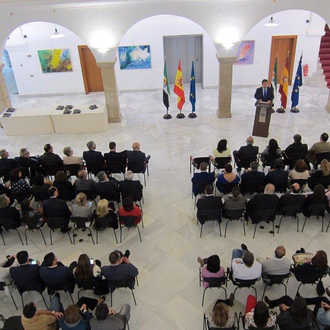Acto institucional por el XXXI aniversario del Parlamento de Extremadura