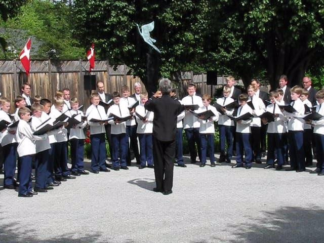 Escolanía danesa que actuará en el Festival de Música y Danza de Úbeda