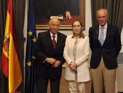 Economía.- (Ampl.) ICO, ADIF y Cedex firman convenios con el CAF para facilitar la internacionalización española