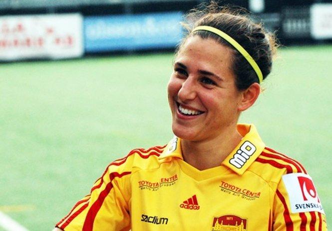 La jugadora española Verónica Boquete