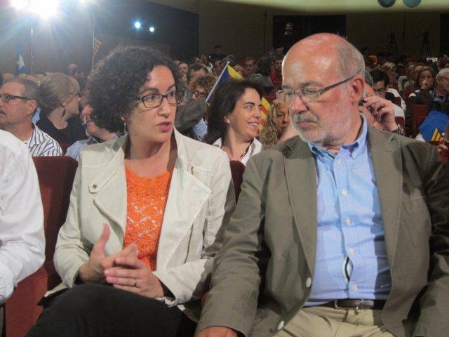 Marta Rovira y Josep Maria Terricabras, ERC