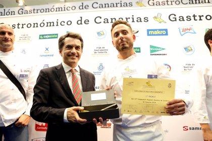 Jorge Peñate gana la décima edición del Campeonato de Cocineros de Canarias