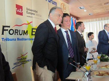 """Floriano: """"Hay quienes quieren para los valencianos un viaje sin retorno fuera de España y de Europa"""""""