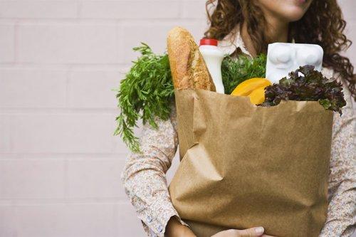 Compra sana en el supermercado
