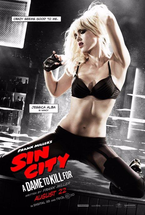Nuevo póster de Sin City: A dame to kill for