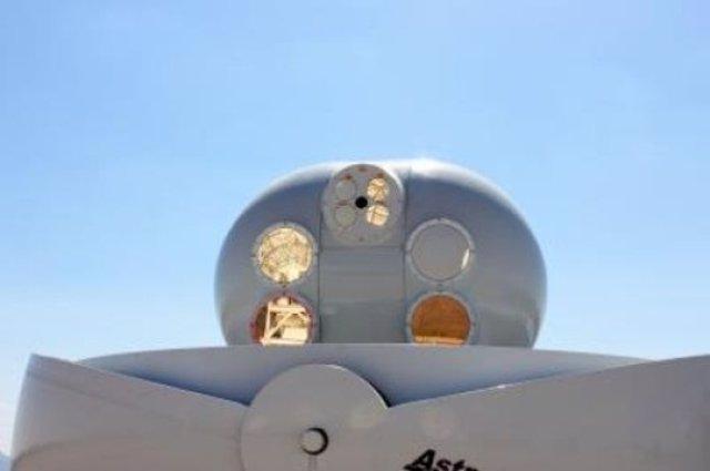 Terminal de conectividad láser espacial
