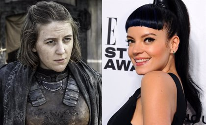 Lily Allen pudo ser la hermana de Theon Greyjoy en Juego de tronos