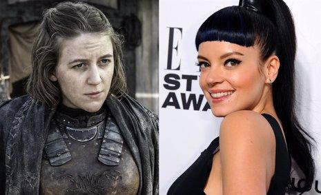 Juego de tronos: Lily Allen podría haber sido la hermana de Theon Greyjoy