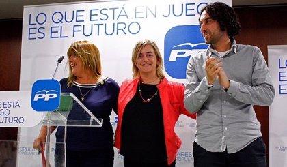 """Peón dice a los cántabros que el domingo """"votar al PSOE es votar a Pepiño Blanco"""""""