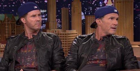 Chad Smith y Will Ferrell