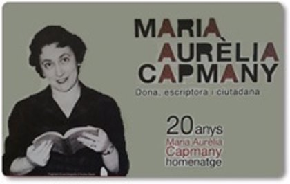 Una exposición repasa vida y obra de Maria Aurèlia Capmany en Santa Coloma de Gramenet